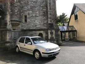 Volkswagen Golf 1.6 SE 5 Door Hatchback Silver