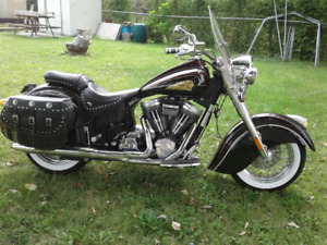 2003 Indian Chief Deluxe Gilroy Bottle Cap 100 ci NOW $12,750.00