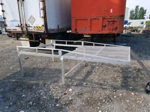 Rack a échelle en aluminium