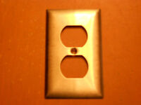Stainless Steel Duplex Receptacle covers