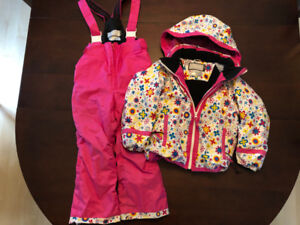 Two Piece Girls Phenix Snowsuit - Age 3-6
