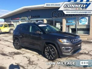 2017 Jeep Compass Limited  - Leather Seats -  Bluetooth - $153.1