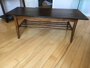 Table a Cafe / Table Base ** Vintage  ** Coffee Table