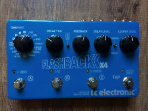 TC Electronic Flashback X4 Delay Pedal & Looper - Mint with Box!