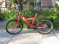 Red Children's bike
