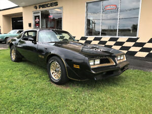 1977 Trans am SE Bandit Y82     - 4 speed- PHS  certified-