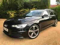 "2014MY AUDI A6 2.0 TDI AVANT BALCK EDITION , SAT NAV +LEATHER + 20"" ALLOYS"