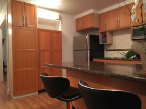 MONTREAL-ROXBORO, RNOVATED 4 ½, ALL INCLUDED AND FURNISHED
