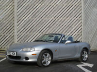 2002?52 MAZDA MX-5 1.8i CONVERTIBLE - SUN IS OUT - GET IT DOWN !!