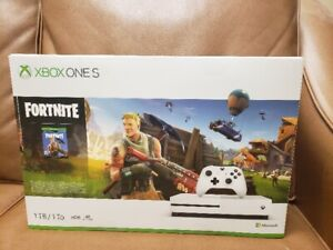 Brand New Xbox one S with Fortnite and 1 month game pass