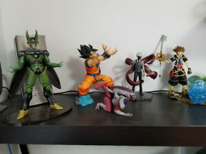 Assorted Figurines (Anime/Video Game)