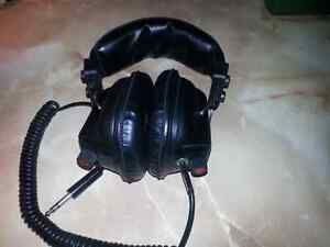 HEAD PHONES WITH  ADJUSTMENTS  FOR BOTH SIDES