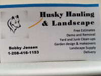 Free quote with Husky Hauling & Landscape