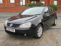 VW GOLF 2.0 GT TDI MK5 2004 5 DOOR TURBO DIESEL GT TDI + MOT MAY 2018