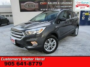 2018 Ford Escape SE  4X4 PWR-SEAT CAMERA SYNC HTD-SEATS STRG-AUD