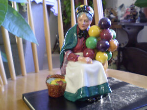 "Royal Doulton Figurine "" The Old Balloon Seller "" HN1315"