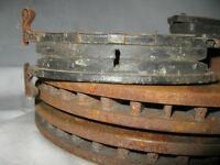 07-13 Nissan Versa front brakes rotors and pads