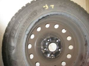 Four Altimax Arctic 5x114.3 Winter Tires (205 60R17) - $240
