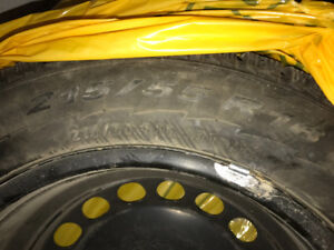 winter tires with rims been used for 1 winte less than 1000km
