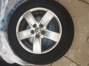 Used Volkswagen Winter Tires & Rims (four)