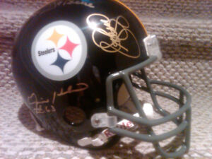 Pittsburgh Steelers Autographed 1970s Helmet