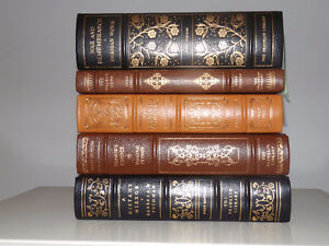 Franklin Library First Edition Leather Books