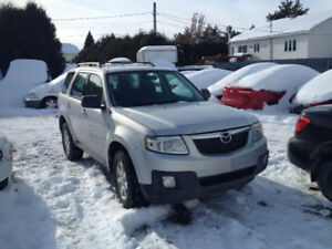 MAZDA TRIBUTE   2012  4X4 4 CYL