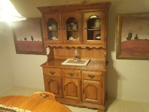 Broehler Hutch,Table,Chairs ,Side