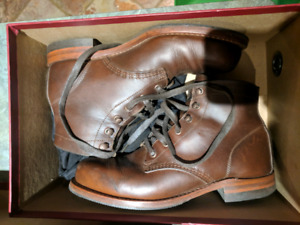 Wolverine 1000 mile brown boot