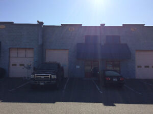1250 sq/ft warehouse / shop space