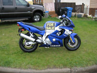 FOR SALE AN 04 YZF600R (PRICE REDUCED)