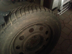 Two GoodYear Eagle Ultra Grip of 235/55R17