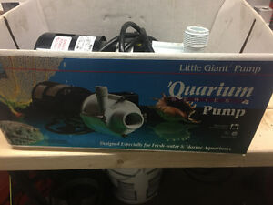 Little Giant Aquarium Pump