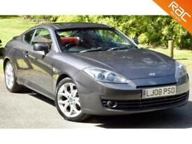 2008 08 HYUNDAI S-COUPE 2.0 SIII 3D 141 BHP SUNROOF+BLUETOOTH+CRUSIE+LEATHER!