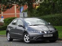 Honda Civic 1.8 i-VTEC 2010 SE +1 OWNER +8 HONDA SERVICE STAMPS+12M MOT+WARRANTY