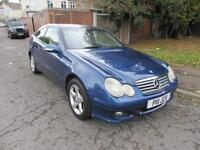 2004 MERCEDES-BENZ C180 KOMPRESSOR 1.8L SE MANUAL PETROL