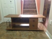 TV & Component Stand $40.