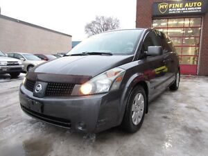 2005 Nissan Quest S , LOW KM, ONLY 122 KM