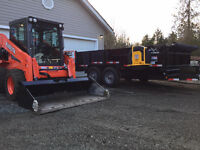 Landscaping Skid Steer Service, Excavation
