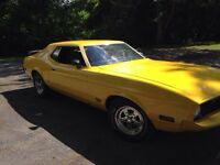 Reduced 1973 mustang