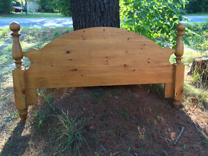 Solid Pine King size Headboard