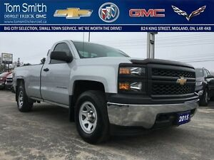 2015 Chevrolet Silverado 1500 WORK TRUCK   -  BACK RACK -  AIR