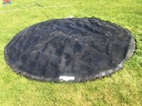 14' Jump King Pro trampoline mat with safety net attached!