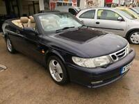 2000 SAAB 9 3 2.0t SE Convertable .From GBP1850+Retail package