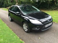 2008 08 PLATE FORD FOCUS 1.6 TDCI STYLE 5 DR HATCH IN BLACK