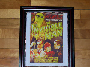 The Invisible Man - Classic 1933 Horror Movie - Framed Print! West Island Greater Montréal image 1