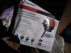 New portable charcoal BBQ