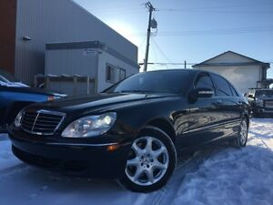 2004 Mercedes S500 4MATIC ALL WHEEL DRIVE = 187K = LOADED
