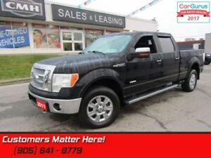 2011 Ford F-150 Lariat  4X4, LEATHER COOLED POWER SEATS, 20'-ALL