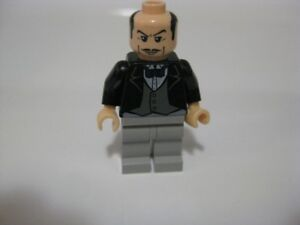 Lego GENUINE Alfred the Butler Mini figure 7783 Batman Batcave